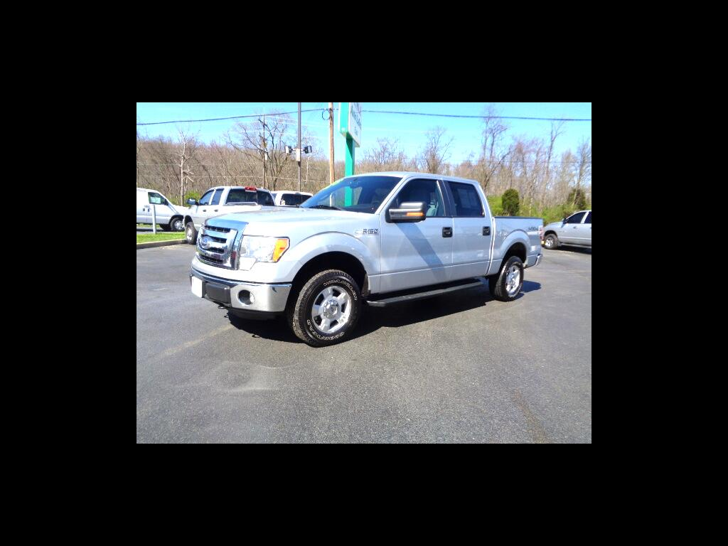 2012 Ford F-150 4WD SUPER CREW XLT 5.0 CLEAN