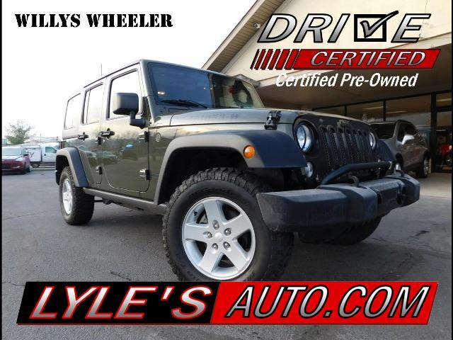 2016 Jeep Wrangler Willy's Wheeler