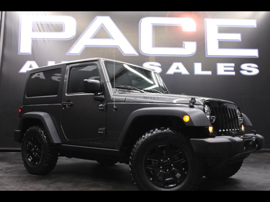 2016 Jeep Wrangler Willys Edition 4WD
