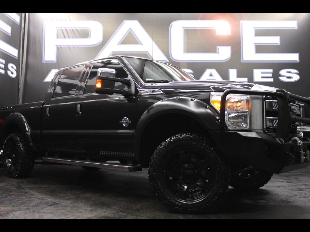 2015 Ford F-250 SD Platinum Crew Cab 4WD Leveled Custom