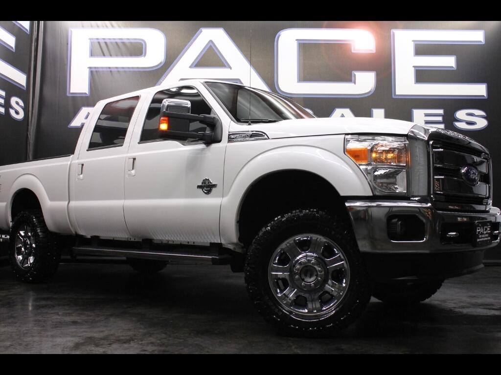 2015 Ford F-250 SD Lariat Crew Cab 4WD Leveled
