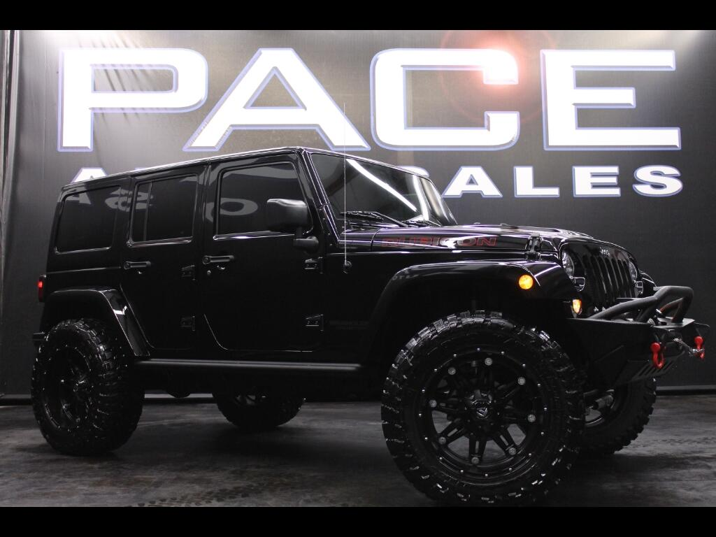 2016 Jeep Wrangler Unlimited Rubicon 4WD Custom Lifted