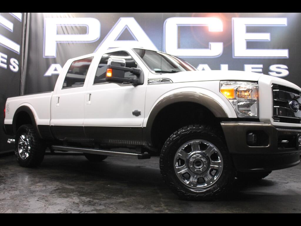 2015 Ford F-250 SD King Ranch Crew Cab 4WD Leveled