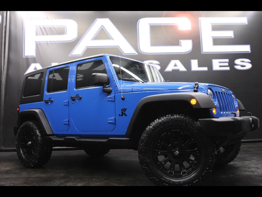 2011 Jeep Wrangler Unlimited Sport 4WD Lifted Custom