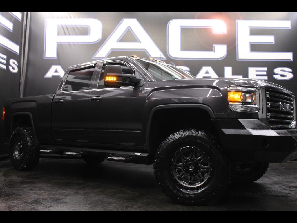 2015 GMC Sierra 2500HD Crew Cab 4WD Leveled Custom