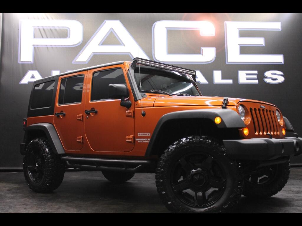 2011 Jeep Wrangler Unlimited 4WD Custom Lifted