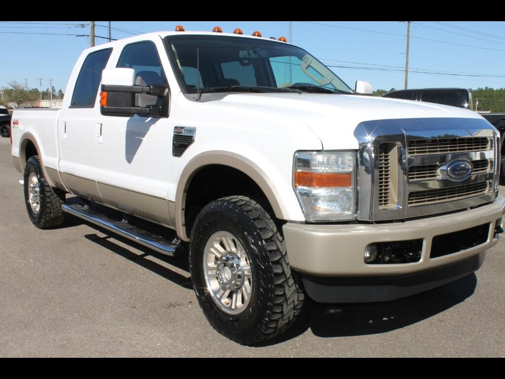 2008 Ford F-250 SD King Ranch Crew Cab 4WD Leveled
