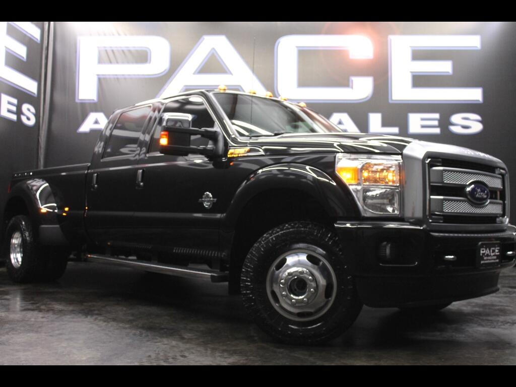 2014 Ford F-350 SD Platinum Crew Cab 4WD Dually