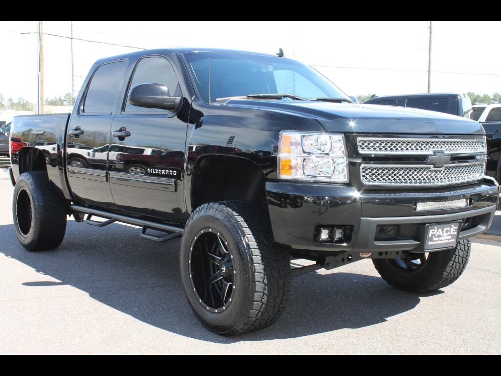 2012 Chevrolet Silverado 1500 LTZ Crew Cab 2WD Lifted Custom