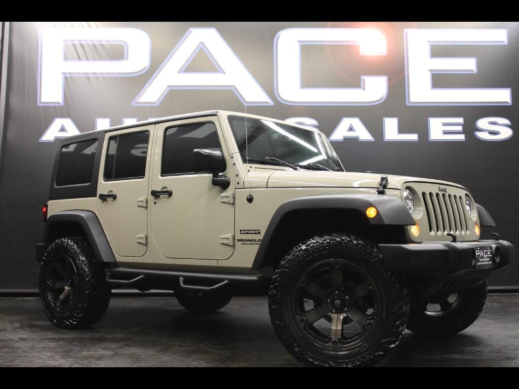 2017 Jeep Wrangler Unlimited Sport 4WD Lifted Custom