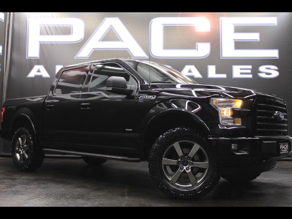 2016 Ford F-150 Sport SuperCrew 4WD Leveled