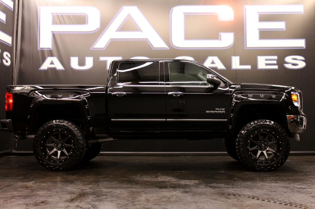 used 2015 gmc sierra 1500 slt crew cab 4wd pace edition for sale in hattiesburg ms 39402 pace. Black Bedroom Furniture Sets. Home Design Ideas