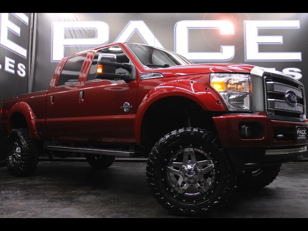 2016 Ford F-250 SD Platinum Crew Cab 4WD Lifted