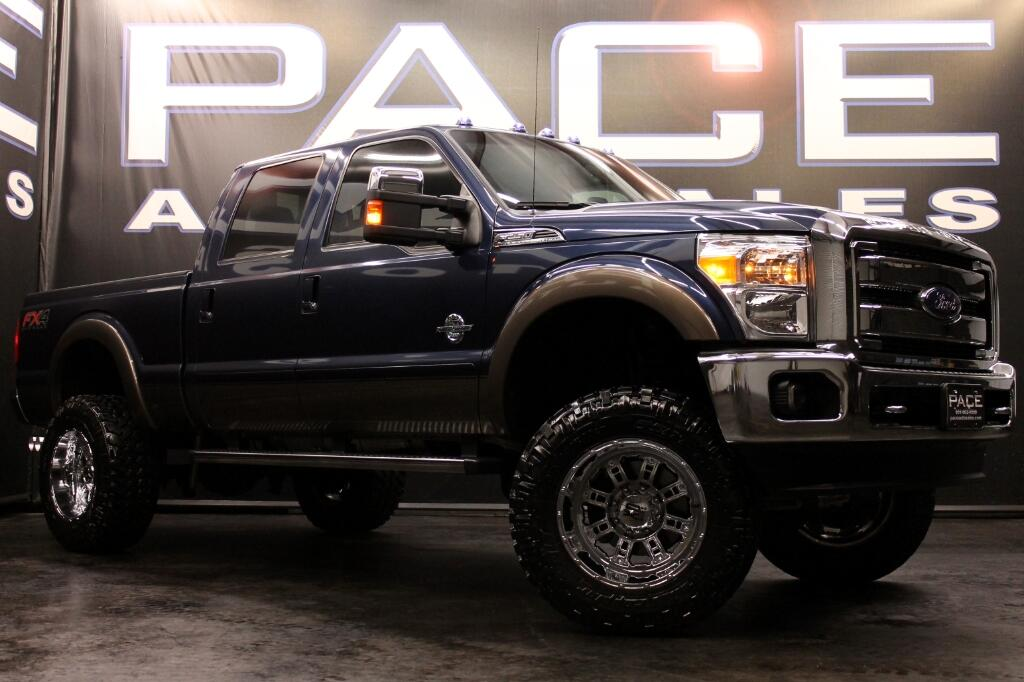 2015 Ford F-250 SD FX4 Crew Cab 4WD LIFTED