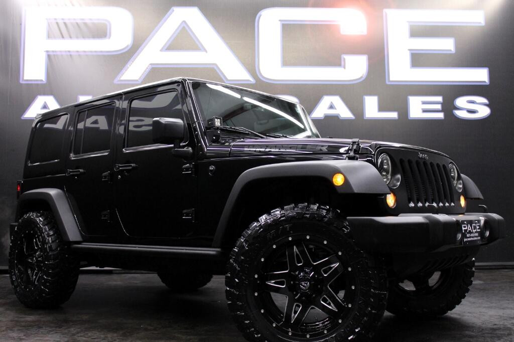 2016 Jeep Wrangler Unlimited Sport 4WD Lifted