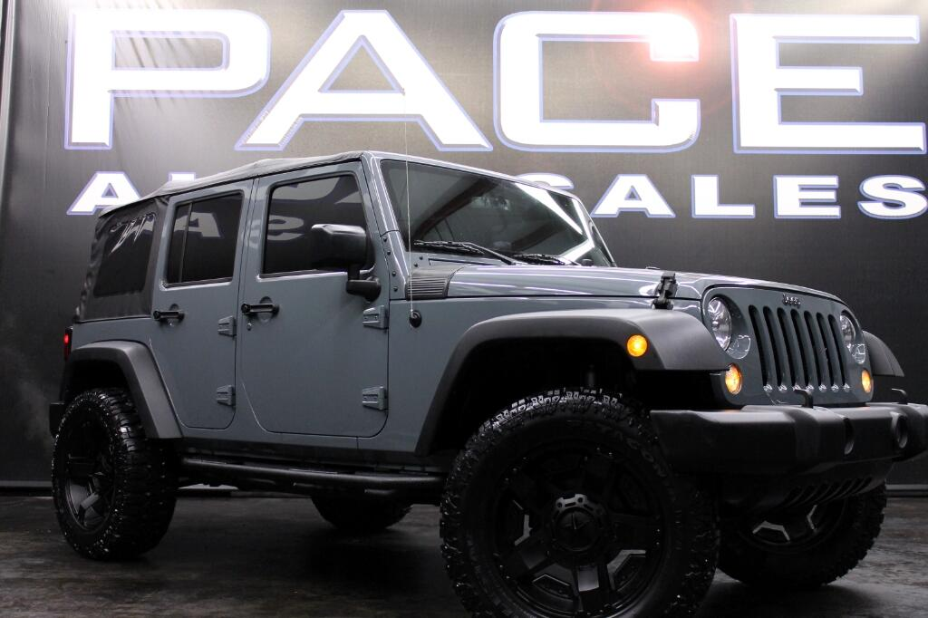 2015 Jeep Wrangler Unlimited Sport 4WD LIFTED