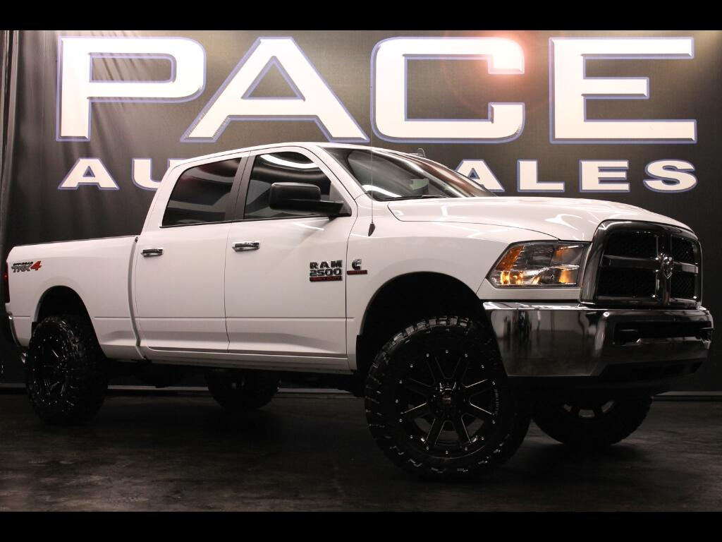 2016 Dodge Ram 2500 SLT Crew Cab 4WD Custom Leveled