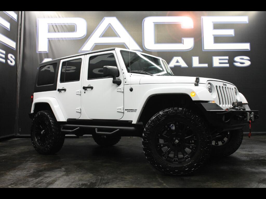 2014 Jeep Wrangler Unlimited Sahara 4WD Lifted Custom