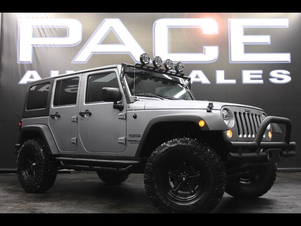 2014 Jeep Wrangler Umlimited 4WD Custom Lifted
