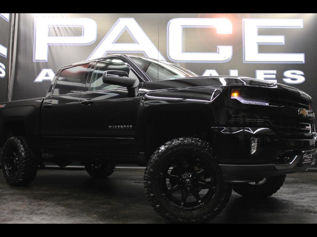 2017 Chevrolet Silverado 1500 Z71 Crew Cab 4WD Custom Lifted