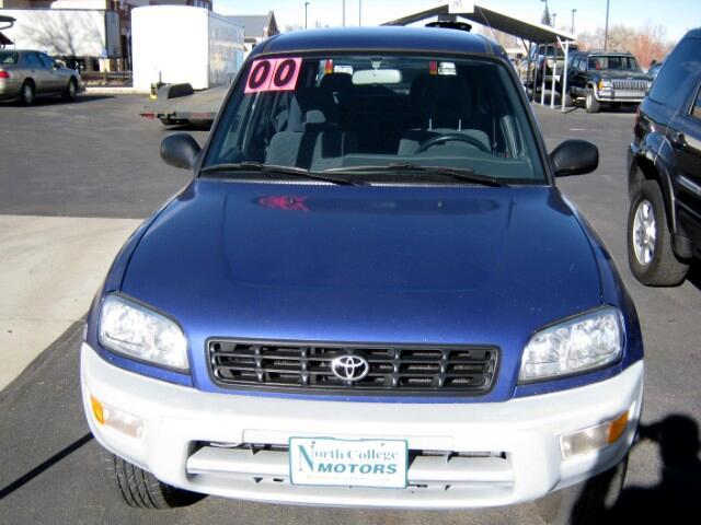 2000 Toyota RAV4 4-Door 4WD