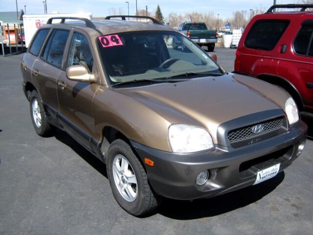 2004 Hyundai Santa Fe GLS 2.7L 4WD