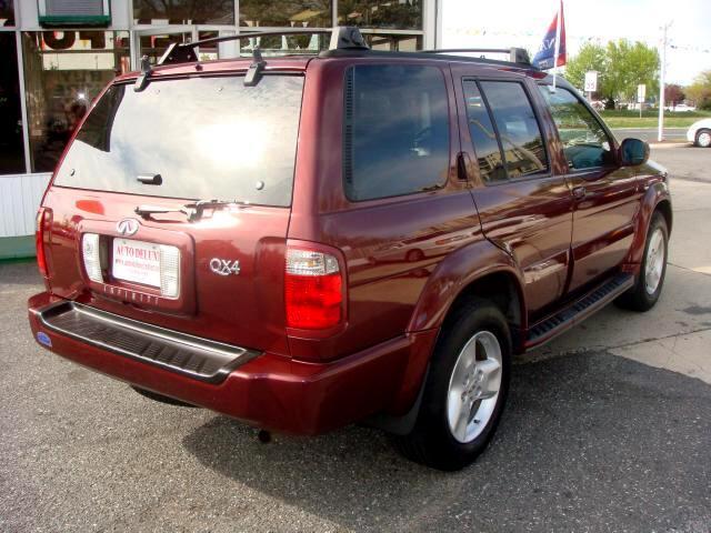 2001 Infiniti QX4 4WD