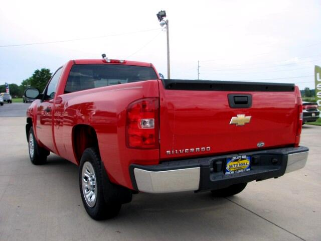 used 2007 chevrolet silverado 1500 work truck long box 2wd for sale in effingham il 62401 the. Black Bedroom Furniture Sets. Home Design Ideas
