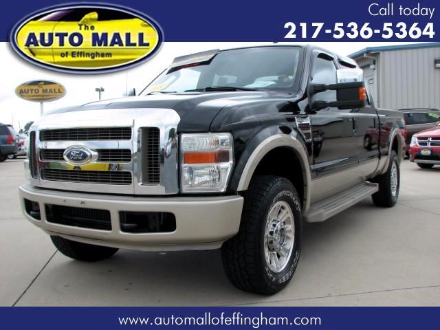 2008 Ford F-250 SD King Ranch Lariat SuperCrew Long Bed 4WD