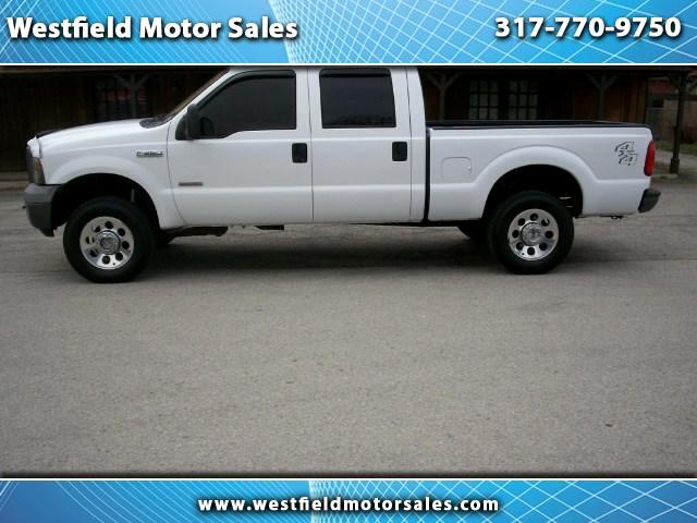 2005 Ford F-250 SD XL Crew Cab Long Bed 4WD