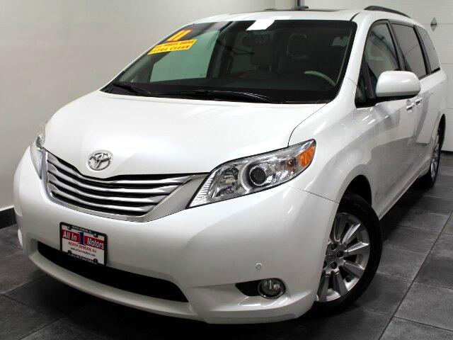 2011 Toyota Sienna Limited AWD 7-Pass V6