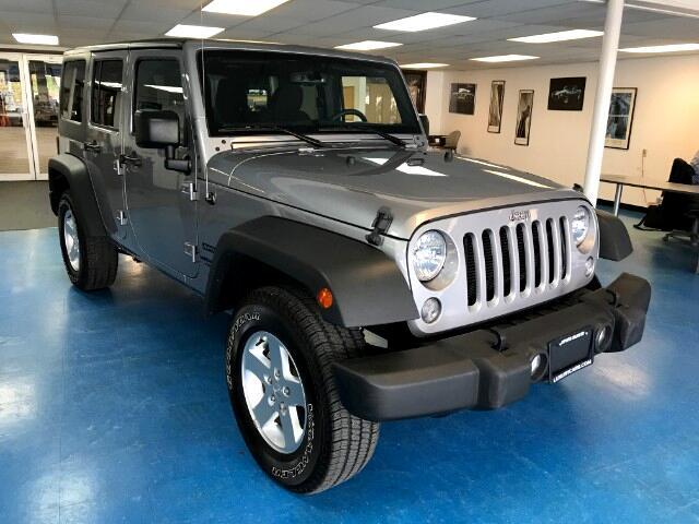 2016 Jeep Wrangler Unlimited Sport 4WD
