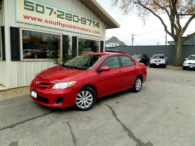 2012 Toyota Corolla LE 4-Speed AT