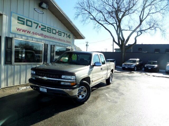 """2001 Chevrolet Silverado 1500 4WD Ext Cab 143.5"""" LS"""