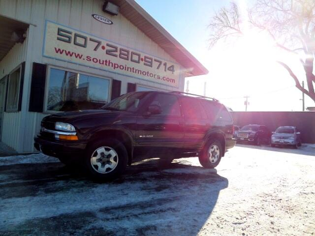 Used 2002 chevrolet blazer 4 door 4wd ls for sale in for Southpoint motors rochester mn