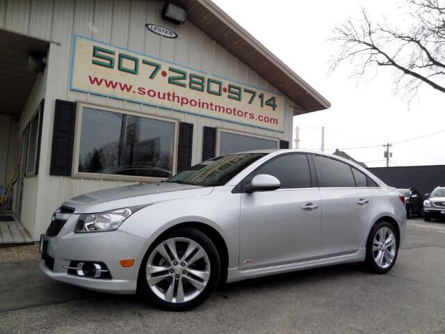 Used 2014 chevrolet cruze ltz auto for sale in rochester for Southpoint motors rochester mn