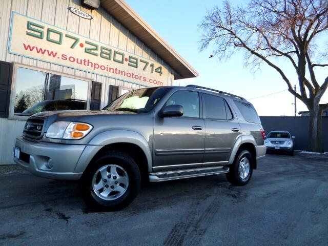 used 2003 toyota sequoia sr5 4wd for sale in rochester mn. Black Bedroom Furniture Sets. Home Design Ideas