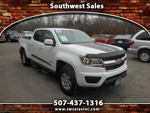 2016 Chevrolet Colorado Work Truck Crew Cab 4WD Short Box