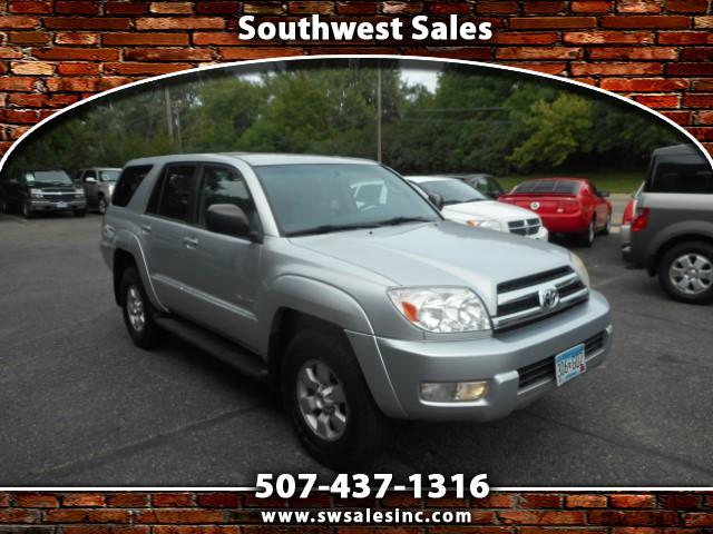 used 2005 toyota 4runner sport edition v6 4wd for sale in austin mn 55912 southwest sales. Black Bedroom Furniture Sets. Home Design Ideas