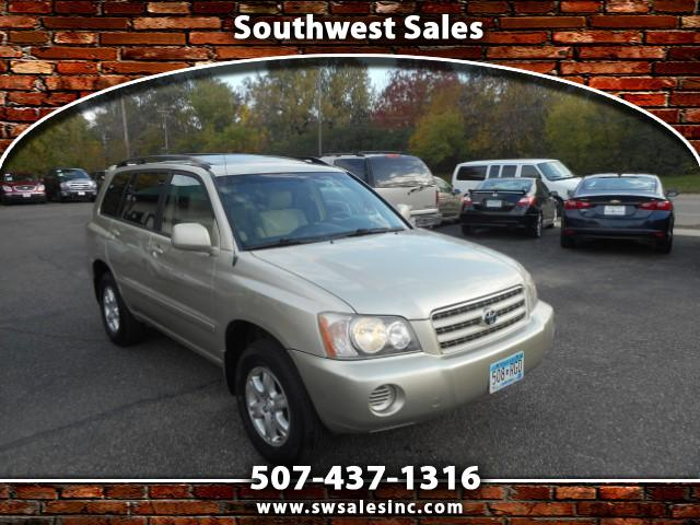 2002 Toyota Highlander Base 4WD