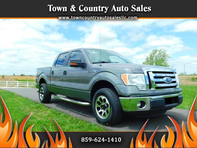 "2012 Ford F-150 SuperCrew 139"" XLT"