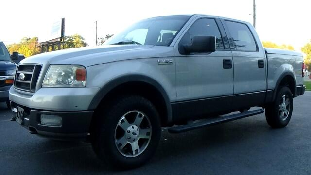 2004 Ford F-150 4WD SuperCab 133