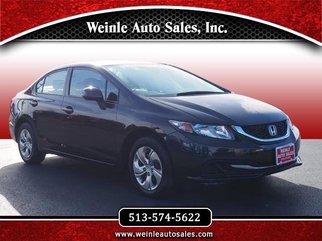 2013 Honda Civic LX Sedan Automatic