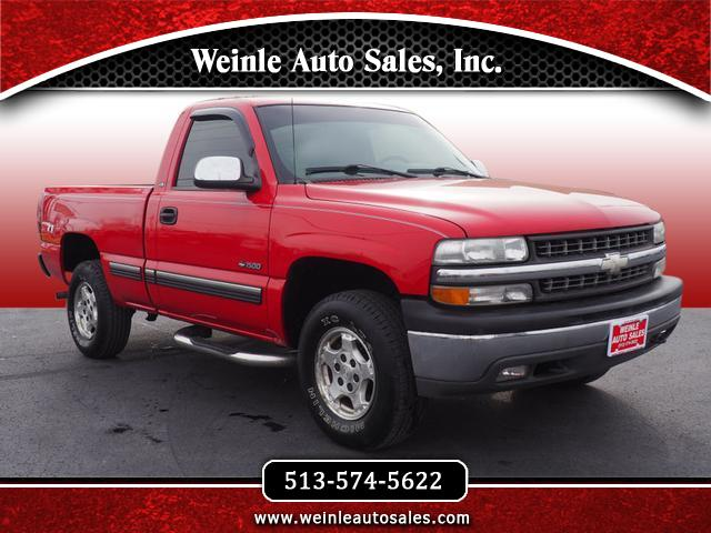 1999 Chevrolet Silverado 1500 Regular Cab  6.5' Bed LS