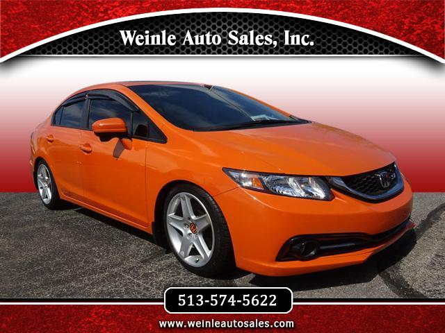 2015 Honda Civic Si Sedan 6-Speed MT