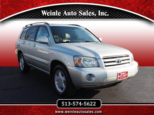 2004 Toyota Highlander Limited V6 3rd row seat