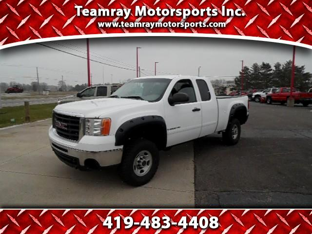 2008 GMC Sierra 2500HD SLE1 Ext. Cab Std. Box 2WD