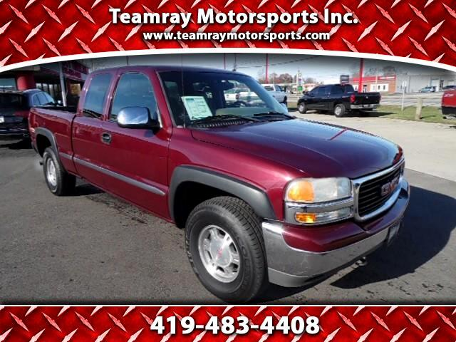 2002 GMC Sierra 1500 SLE Ext. Cab Short Bed 4WD