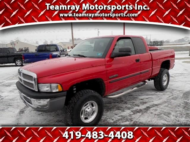 2002 Dodge Ram 2500 SLT Quad Cab Short Bed 4WD