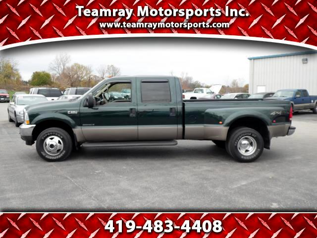 2002 Ford F-350 SD Lariat Crew Cab Long Bed 4WD DRW